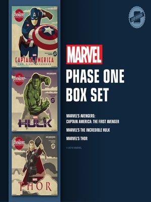 cover image of Marvel's Phase One Box Set