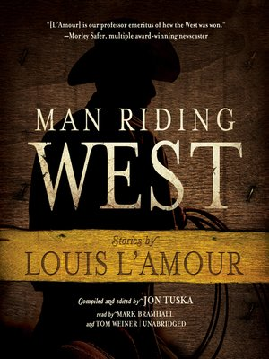 cover image of Man Riding West