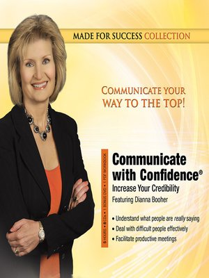 cover image of Communicate with Confidence