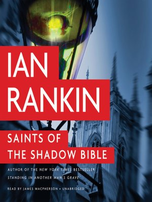 cover image of Saints of the Shadow Bible