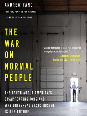 cover image of The War on Normal People