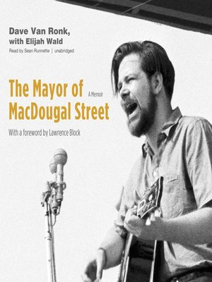 cover image of The Mayor of MacDougal Street