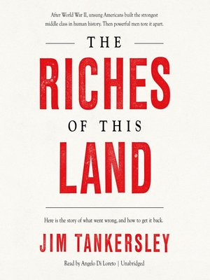 cover image of The Riches of This Land