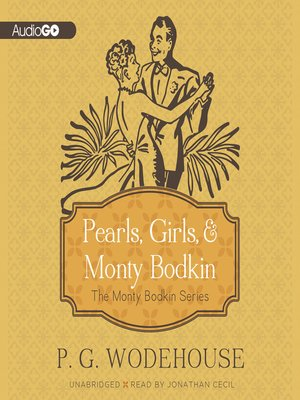 cover image of Pearls, Girls, & Monty Bodkin