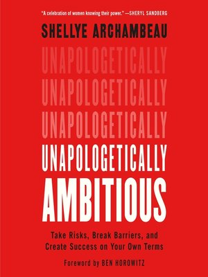 cover image of Unapologetically Ambitious
