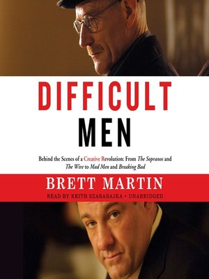 cover image of Difficult Men