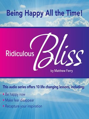 cover image of Ridiculous Bliss
