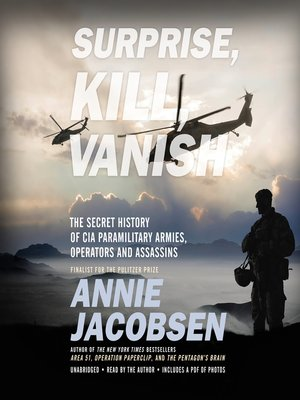 cover image of Surprise, Kill, Vanish