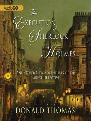 cover image of The Execution of Sherlock Holmes