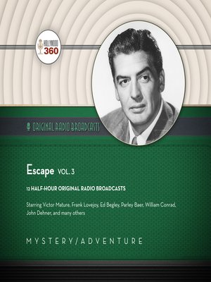 cover image of Escape, Volume 3