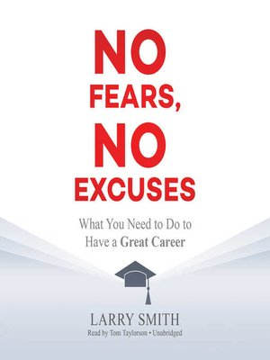 cover image of No Fears, No Excuses