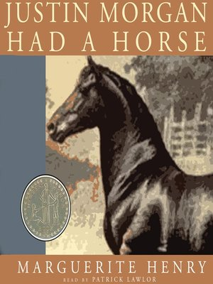 cover image of Justin Morgan Had a Horse
