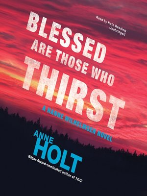 cover image of Blessed Are Those Who Thirst