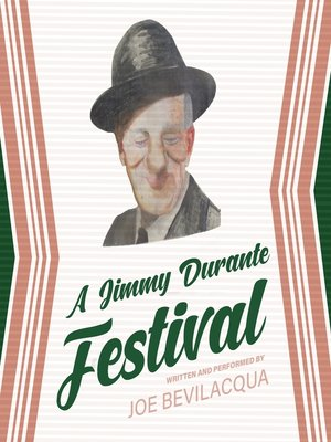 cover image of A Jimmy Durante Festival