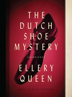 cover image of The Dutch Shoe Mystery
