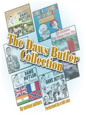 cover image of The Daws Butler Collection