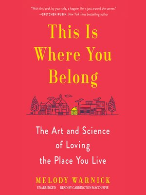 cover image of This Is Where You Belong