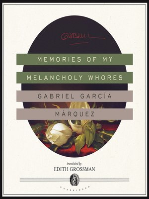 cover image of Memories of My Melancholy Whores