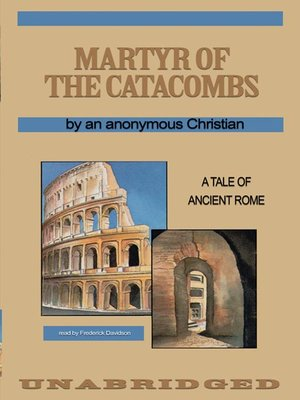 cover image of Martyr of the Catacombs