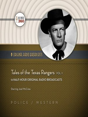 cover image of Tales of the Texas Rangers, Volume 1