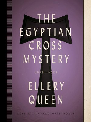 cover image of The Egyptian Cross Mystery