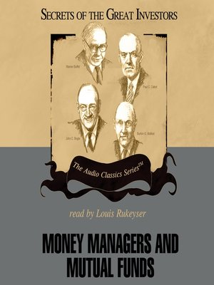 cover image of Money Managers and Mutual Funds