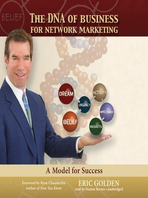 cover image of The DNA of Business for Network Marketing