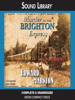 cover image of Murder on the Brighton Express