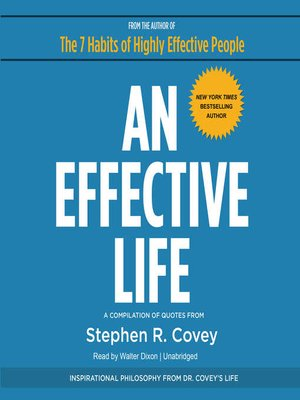 cover image of An Effective Life