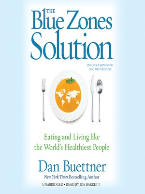 cover image of The Blue Zones Solution