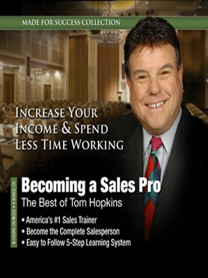 cover image of Becoming a Sales Pro