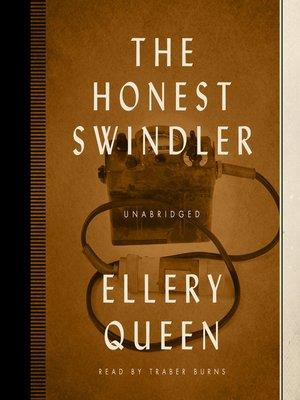 cover image of The Honest Swindler