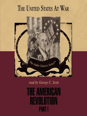 cover image of The American Revolution, Part I