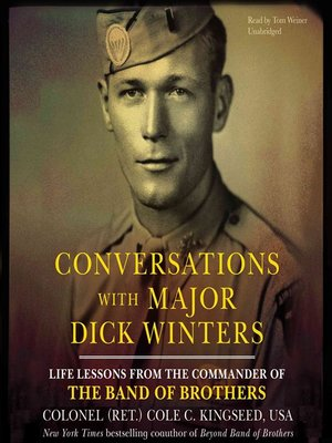 cover image of Conversations with Major Dick Winters