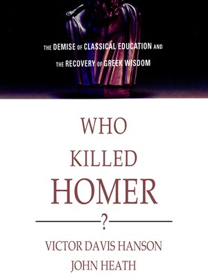 cover image of Who Killed Homer?