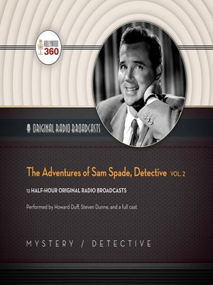 cover image of The Adventures of Sam Spade, Detective, Volume 2