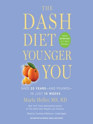cover image of The DASH Diet Younger You