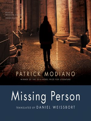 cover image of Missing Person