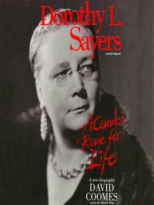 cover image of Dorothy L. Sayers