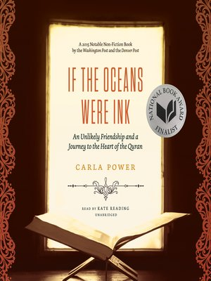 cover image of If the Oceans Were Ink