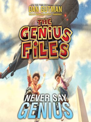 cover image of Never Say Genius