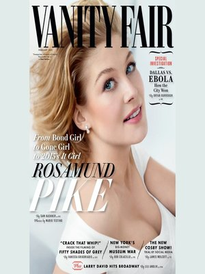 cover image of Vanity Fair: February 2015 Issue