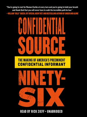 cover image of Confidential Source Ninety-Six