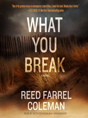 cover image of What You Break