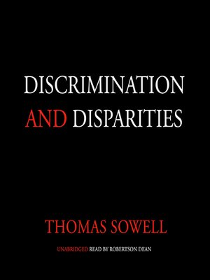 cover image of Discrimination and Disparities