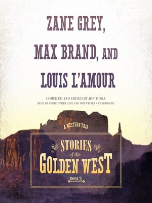 cover image of Stories of the Golden West, Book 3