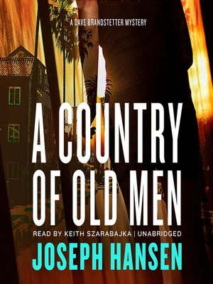 cover image of A Country of Old Men