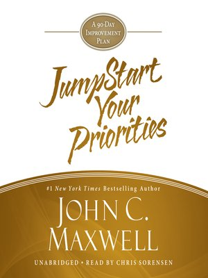 cover image of Jumpstart Your Priorities