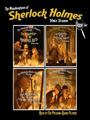 cover image of The Misadventures of Sherlock Holmes, Boxed Set