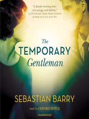 cover image of The Temporary Gentleman